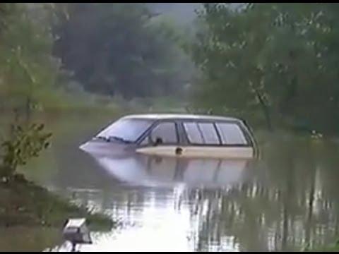 Elmhurst Illinois Flood of 1987 Home Video