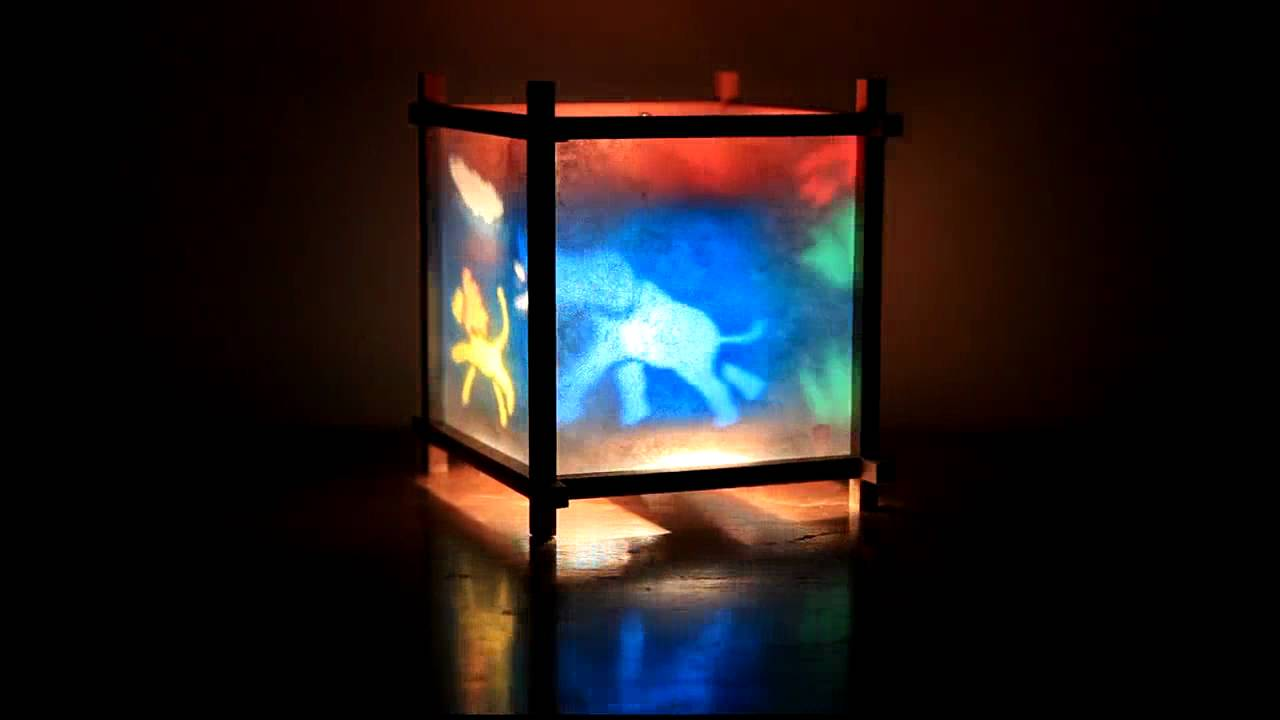 Woogie Lamp Children S Spinning Lamp Youtube