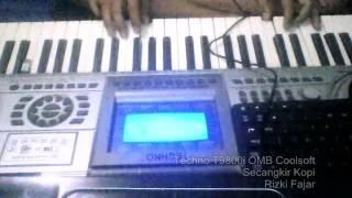 Secangkir Kopi Keyboard Techno T9800i OMB Coolsoft  Rizki Fajar