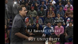 RJ Raunac as speaker at Xpressions - 2018 (Part - 1)