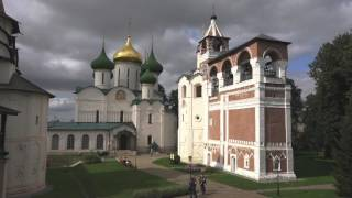 The bells of the Saviour Monastery of St Euthymius, Suzdal, Russia.
