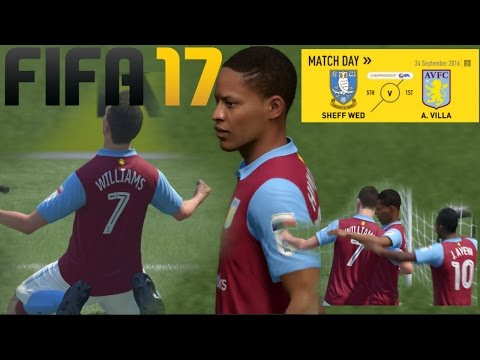 FIFA 17 ASTON VILLA VS SHEFF WED  +Small Channel Update