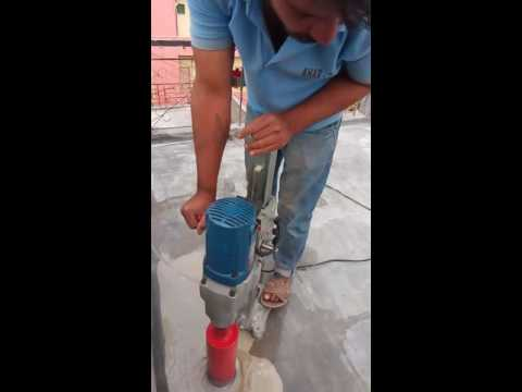 Bangalore core cutting machine work D H N plumbing contractor(1)