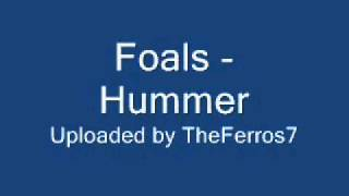 Foals - Hummer (Skins secret party)