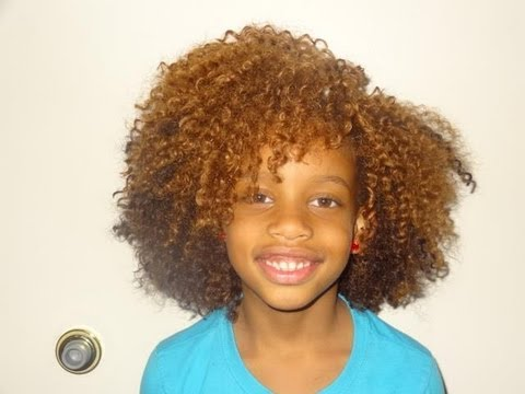 Crochet Curly Hair Youtube : Crochet Hair Weave Experiment - YouTube