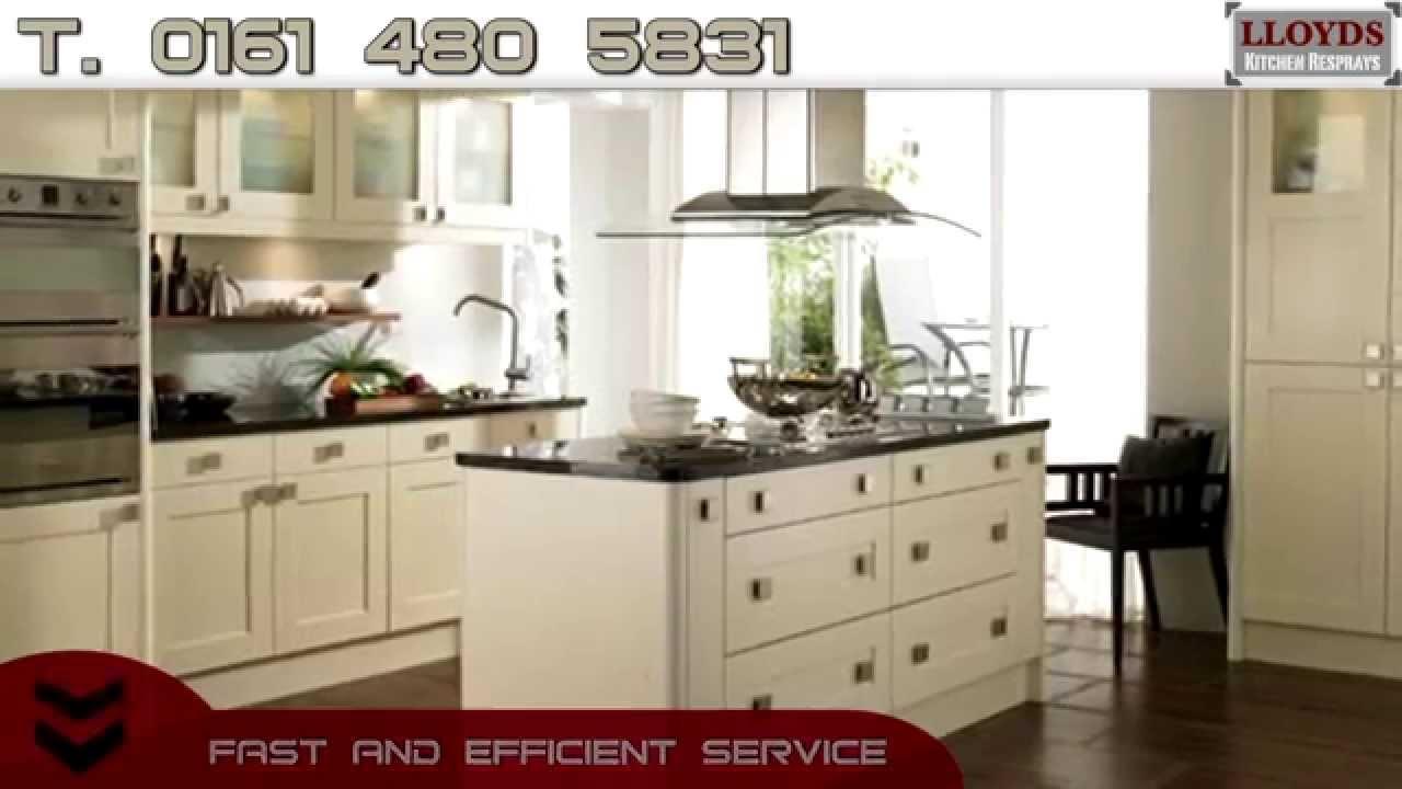 Kitchen Resprays Urmston & Kitchen Resprays Didsbury - YouTube