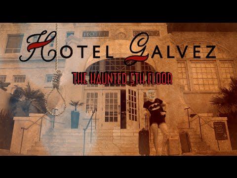 Haunted Suicide Hotel Galvez Galveston Texas