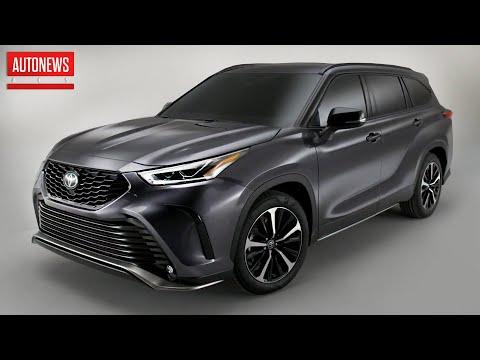 Новый Toyota Highlander XSE (2021): спортивная версия с стандартным мотором