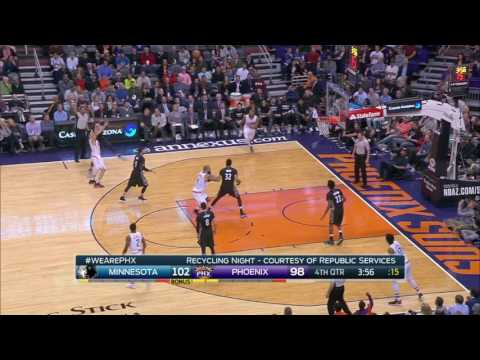 Minnesota Timberwolves vs Phoenix Suns | January 24, 2017 | NBA 2016-17 Season