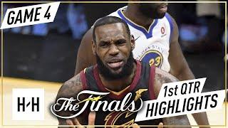 Golden State Warriors vs Cleveland Cavaliers - Game 4 - 1st Qtr Highlights | 2018 NBA Finals