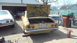 Starting 1969 Corvair after 26 years pt 2