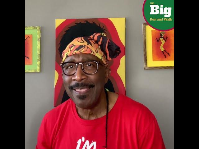 Mr Motivator Supports CLF Big Run and Walk