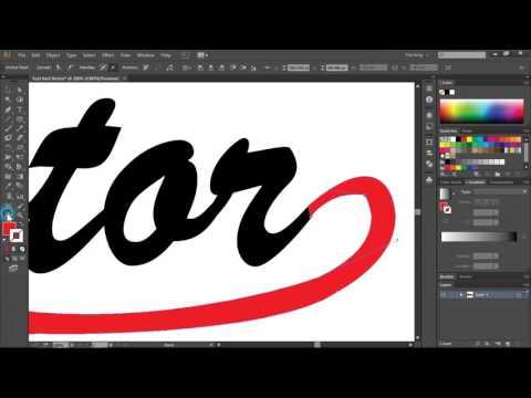 Bài 14. Thiết kế hiệu ứng Text kết hợp với Vector trong Adobe Illustrator CC