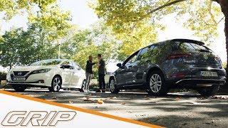Reichweiten-Duell Elektro vs. Diesel | Nissan Leaf vs. VW Golf 1.6 TDI  | GRIP