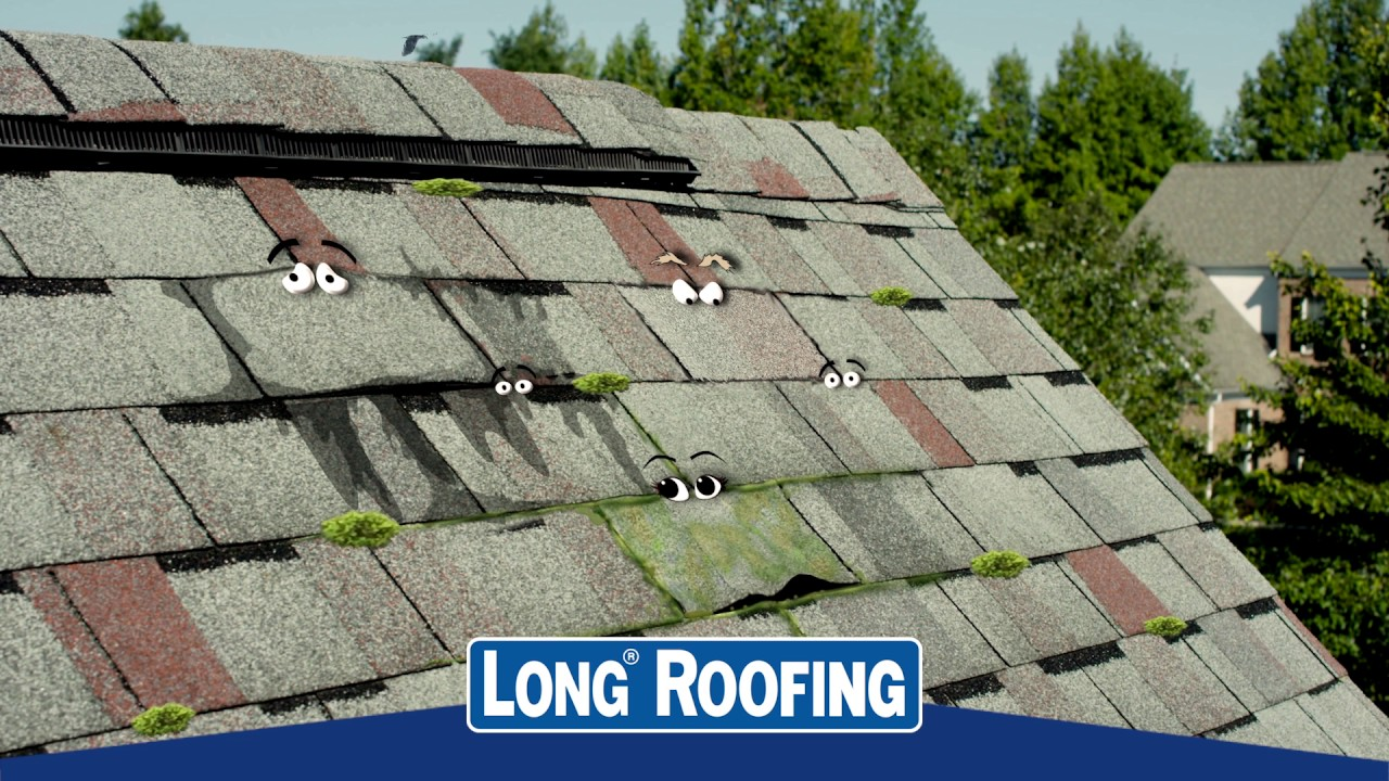 Long Roofing Spring Talking Shingles Commercial  ESB Advertising