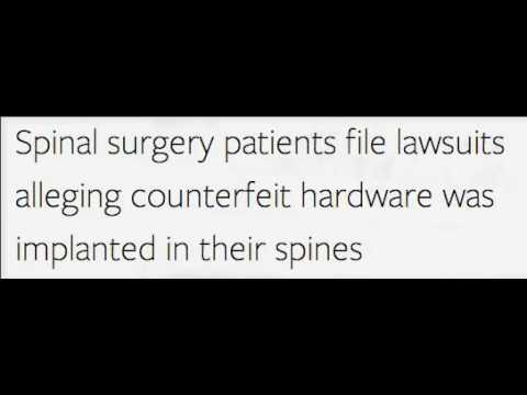 Spinal Surgery Lawsuits
