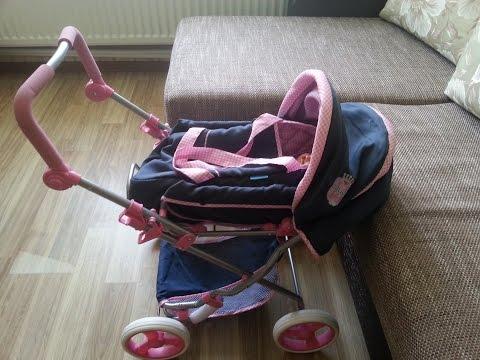 Новая коляска для Беби Борна Серёжи
