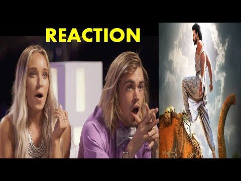 Foreigners React to Sahore Bahubali Full Song - Prabhas