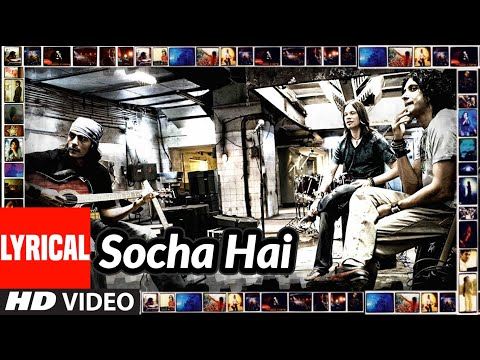 Socha Hai Lyrical   Rock On   Arjun Rampal, Farhan Akhtar, Prachi Desai, Purab Kohli, Koel Puri