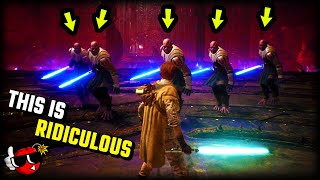 Jedi Fallen Order has gone mad