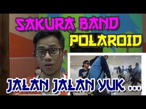 SAKURA BAND #POLAROID - ORANG INDONESIA MEREAKSI LAGU MALAYSIA#26