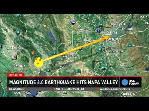 After The Earthquake - Napa California