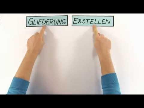 Deutsch: Gliederung für Erörterungen erstellen | Deutsch | Aufsatz