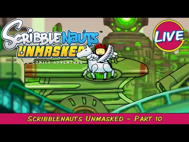 Scribblenauts Unmasked Pt. 10 - Grawlix Plays LIVE