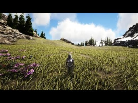 EPIC NEW ARK GLITCH HOW TO GET PLANT X DOWN EASY?