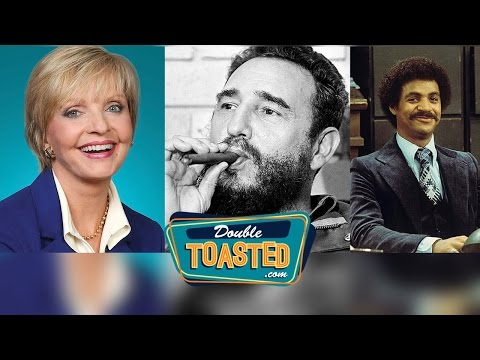 RIP FLORENCE HENDERSON, FIDEL CASTRO AND MORE - Double Toasted Podcast Highlight