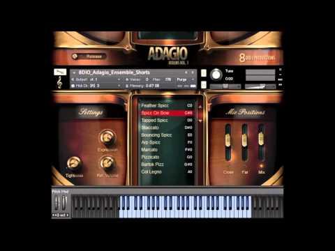 Adagio Short Note Overview - Solo, Divisi and Ensemble Violin