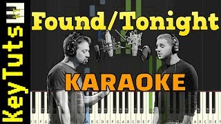 Learn to Play Found/Tonight by Lin-Manuel Miranda & Ben Platt - Piano Only [Karaoke]