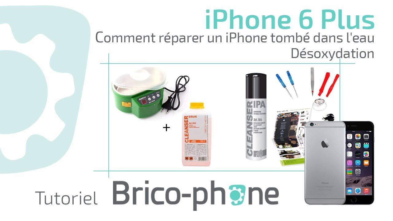 Iphone  Tombe Dans L Eau