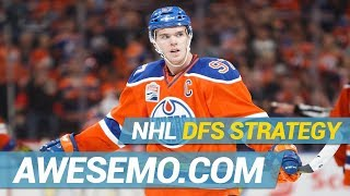 DraftKings & FanDuel NHL DFS Strategy | Hit The Ice | Friday 2/15 | Awesemo.com