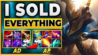I GO FROM AD TO AP TO WIN THE GAME (HILARIOUS ENDING) - BunnyFuFuu | League of Legends