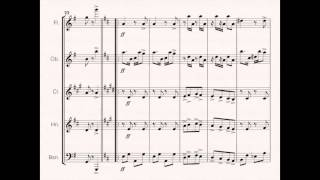 Scott Joplin - Original Rags for Wind Quintet