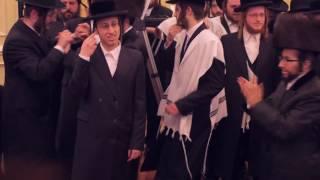 The Entire Shira Choir, Shea Berko, Yanky Briskman and MOTTY JAY Dancing with Shraga Gold at his Son