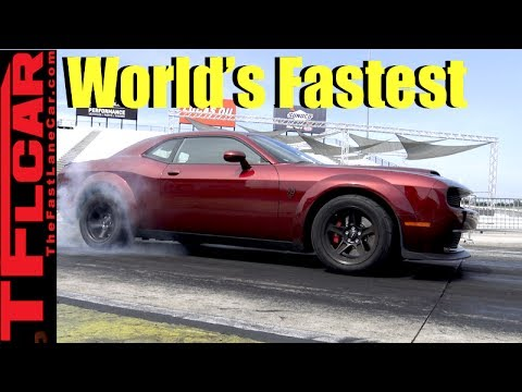 060 MPH in 23 Sec! How the Dodge Demon is The Worlds Fastest Accelerating Production Car