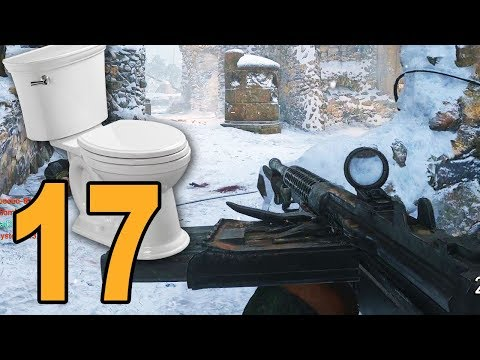 THEY CAN HEAR MY TOILET 😂 - Call of Duty WW2 Road to Commander - Part 17