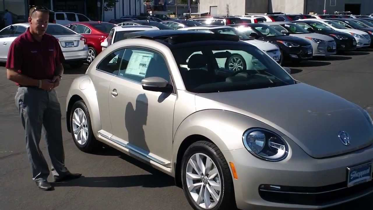 Your 2013 Volkswagen TDI Beetle with Sunroof is now at Sheppard Volkswagen - YouTube