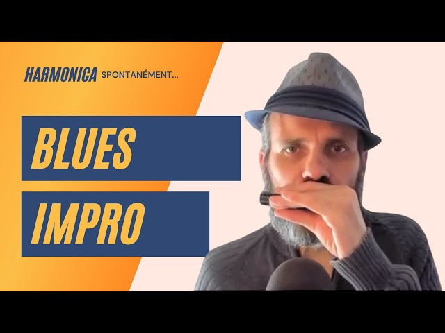 impro harmonica blues
