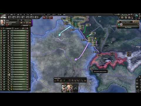 Hearts of Iron IV- Kaiserreich Germany Timelapse
