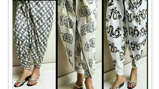 Repeat youtube video tulip shalwar drafting, cutting and stitching in hindi | tulip salwar cutting and stitching
