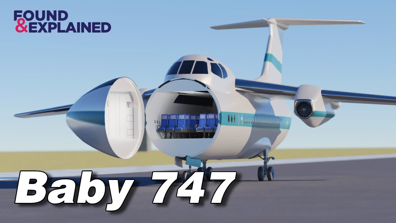 CRAZY Passenger Nose Door - The Baby 747 Saab 1073