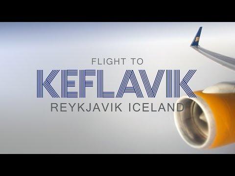MY FLIGHT TO REYKJAVIK - ICELAND   2014