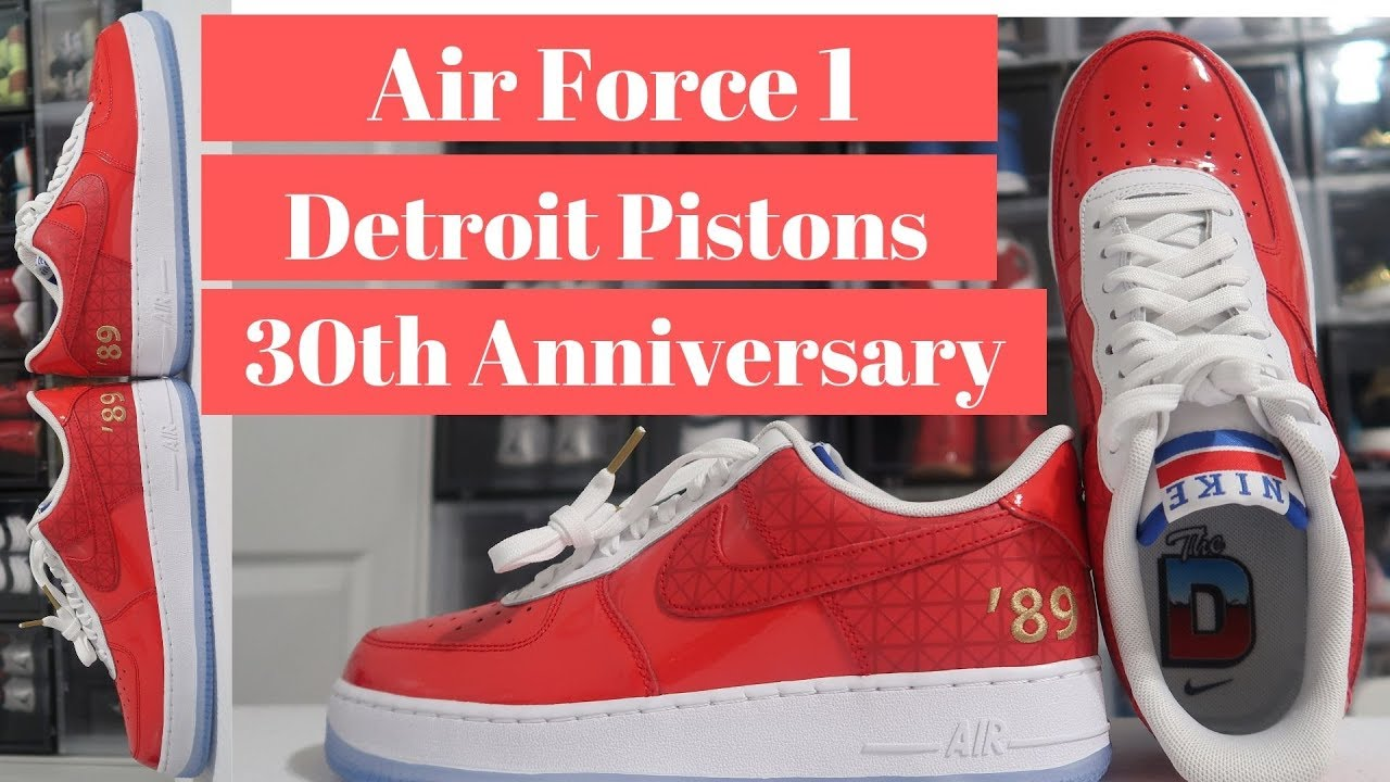 Air Force 1 Detroit Pistons 30th