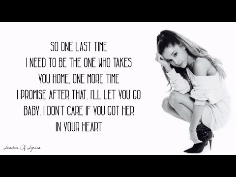 Ariana Grande - ONE LAST TIME