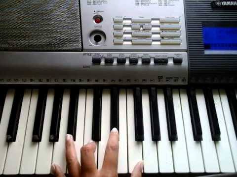 Video Tutorial How To Play Chord F7 G7 On Keyboard Youtube