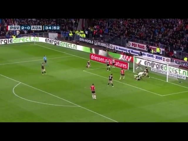 Gol de chucky Lozano  vs ajax HD 23/9/18