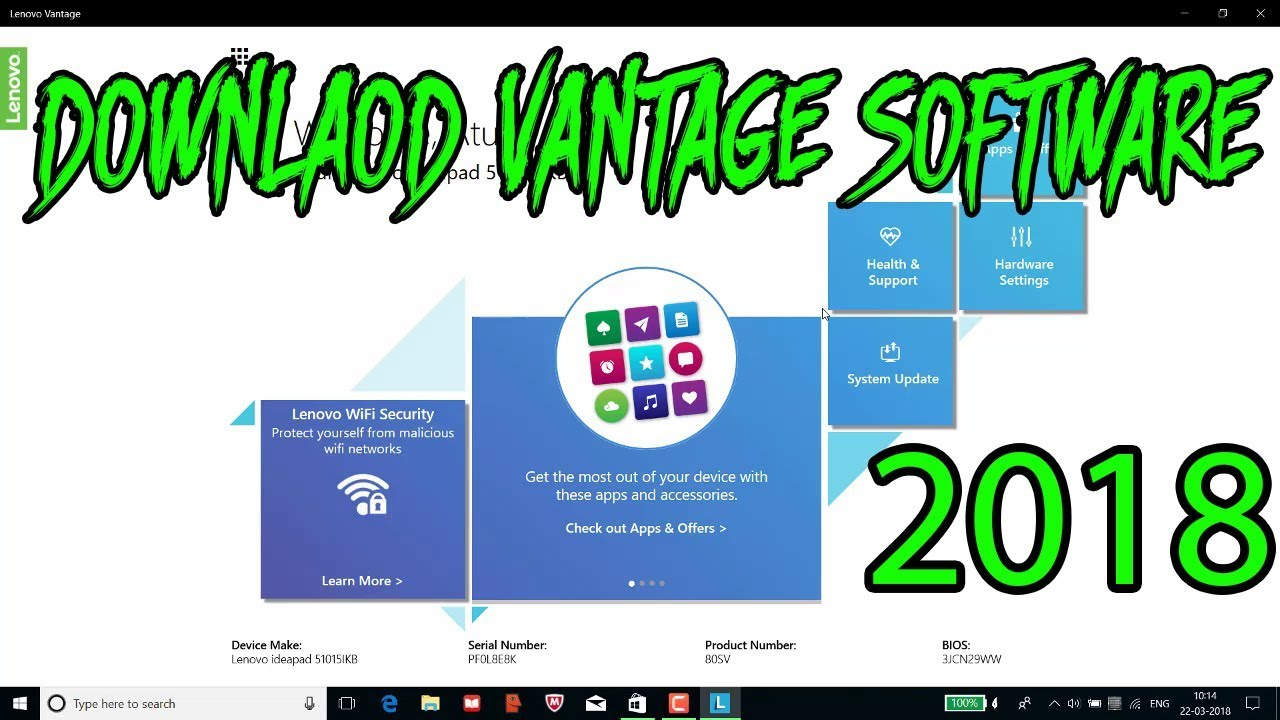 How to Downlaod lenovo vantage software for laptop or pc || install vantage  software || 2018 new